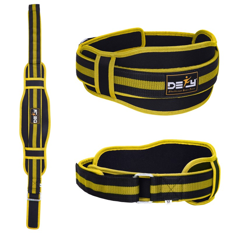 Weight Lifting Belts Bodybuilding Gym Fitness Back Support Strap Training Belt